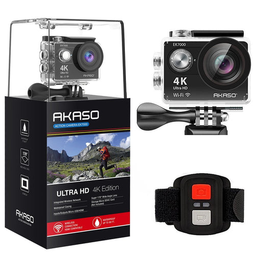 AKASO EK7000 4K Sports Action Camera Kits