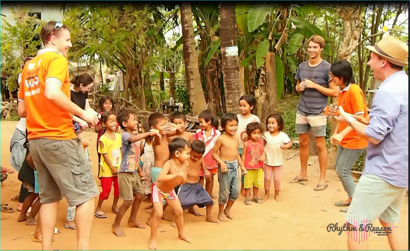 Rhythm & Reason Initiative Launches In Cambodia With Ukuleles