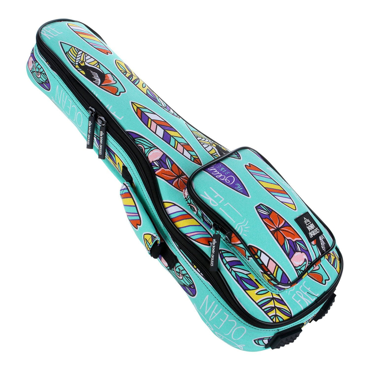 """Boards of Paradise"" Ukulele Bag - Soprano Size"