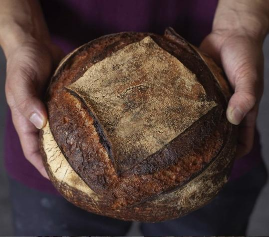 Brickfields 100% stoneground wholemeal sourdough