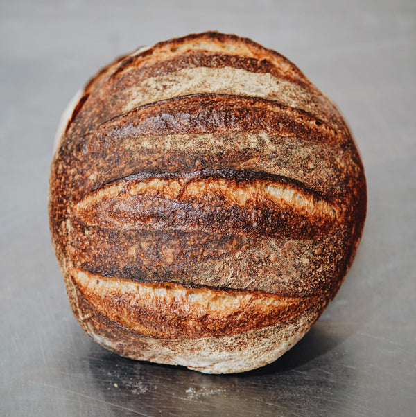 Brickfields white sourdough round