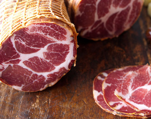 Pastured NSW pork capocollo sliced Plain