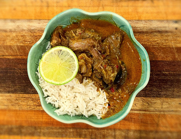 Lankan Red Goat Curry