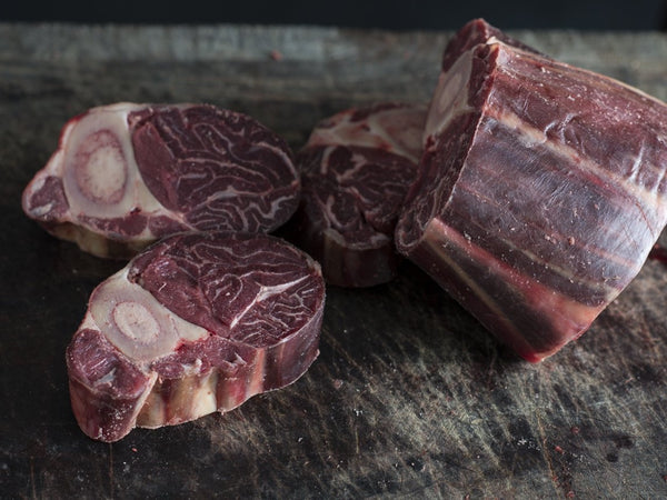 Pastured beef osso buco: app 1.0 kg