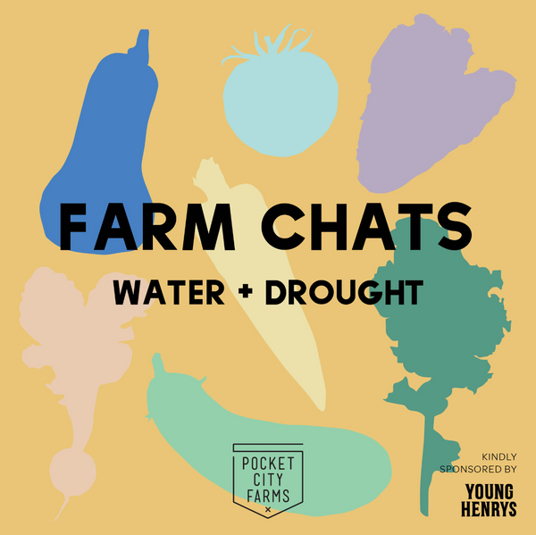 Wed 7/11: Pocket City Farm Chats // 'Water & Drought'
