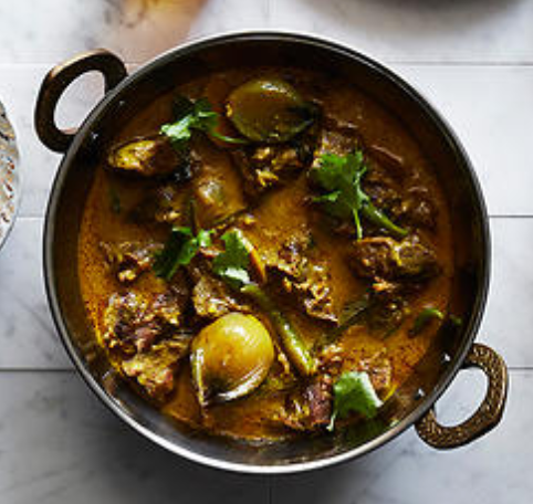 Lankan Red Lamb Curry