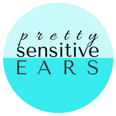 Pretty Sensitive Ears new blue logo