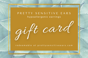 Gift Card to PrettySensitiveEars.com
