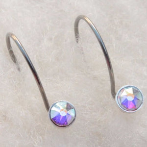 Xirius Hypoallergenic Niobium Do-Drop Earrings for Sensitive Ears