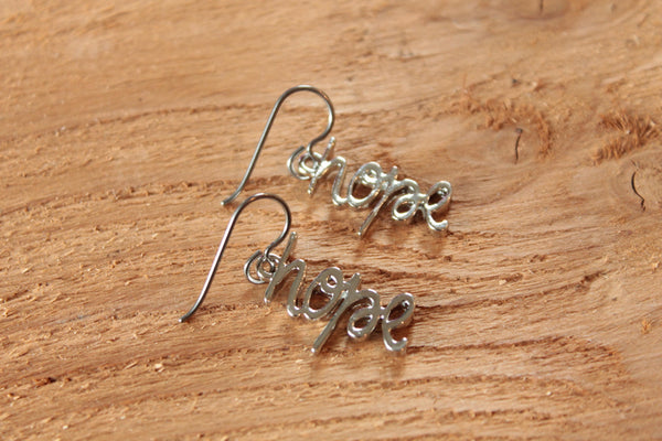 hope Dangles (Surgical Steel, Niobium, Titanium Earrings for Sensitive Ears) - Pretty Sensitive Ears