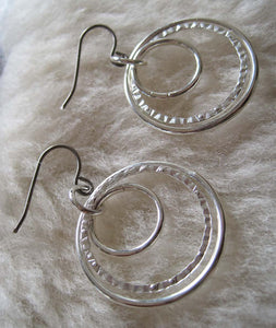 Nestled Hoops (Niobium, Titanium, or Surgical Steel Earrings) - Pretty Sensitive Ears