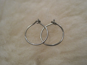 Custom Order for GH: 20 gauge Anodized Gold Niobium Hoop Earrings - Nickel Free Hypoallergenic Earrings - Pretty Sensitive Ears