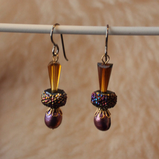 Amorous Dangles (Surgical Steel, Titanium, or Niobium Earrings) - Pretty Sensitive Ears