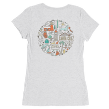 Iconic Santa Cruz Women's Back-Print T-Shirt