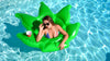 "Giant ""Green Leaf"" Pool Float"