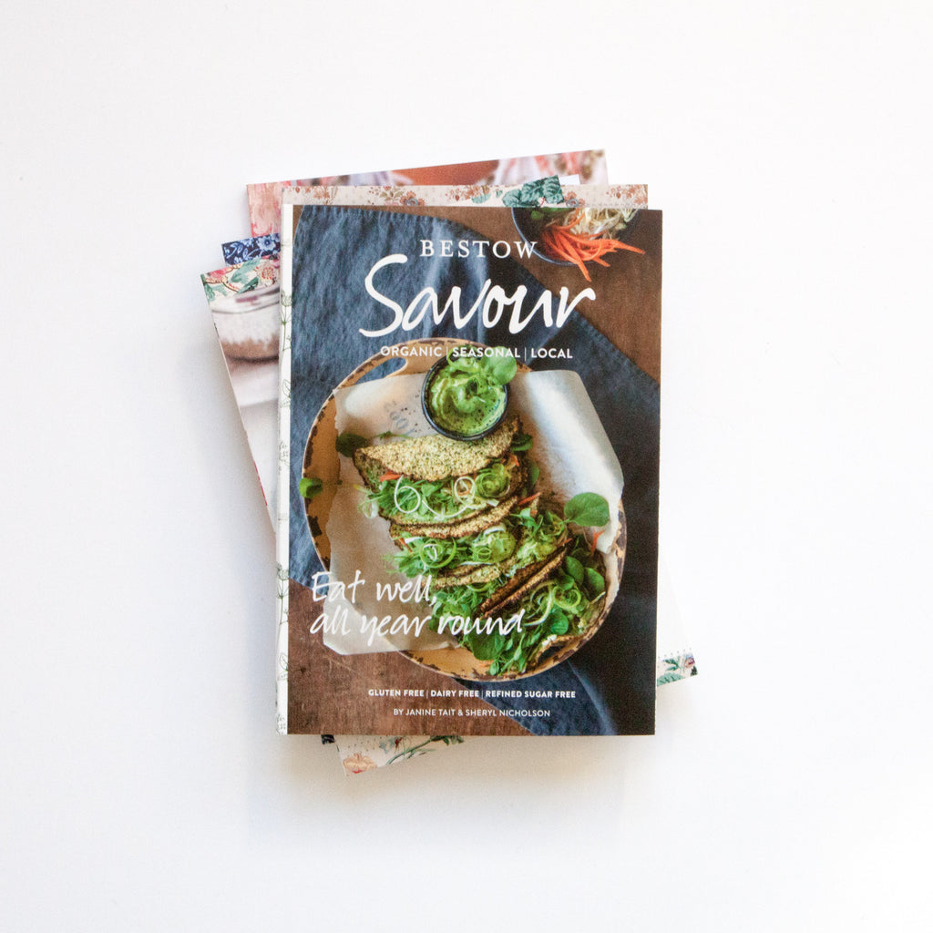 Bestow Savour Recipe Book