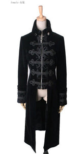 Streampunk Mens Long Jacket two color