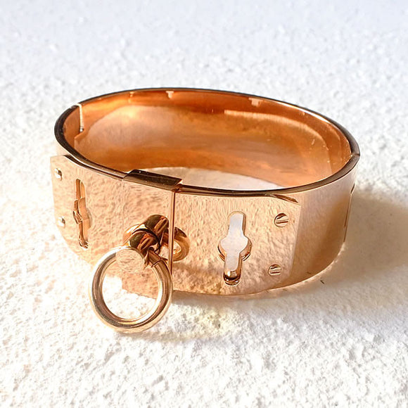 Locked Up Cuff, Rose Gold
