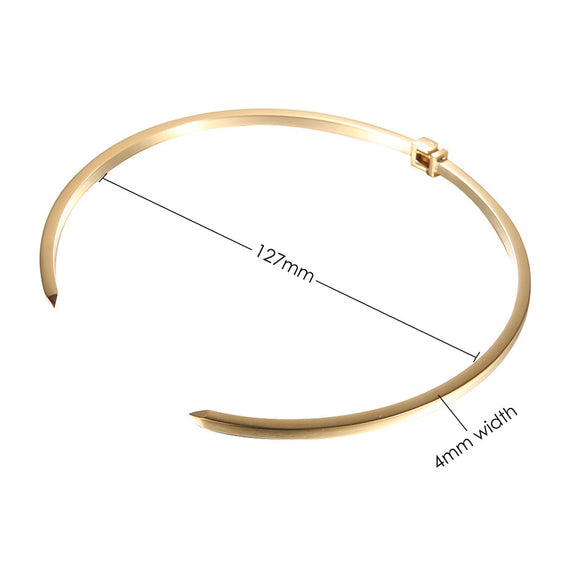 On Point Choker, Gold
