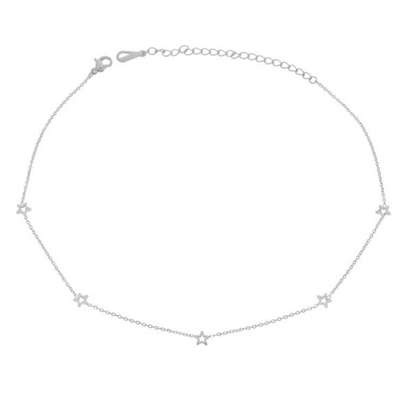 Constellation Choker, Silver