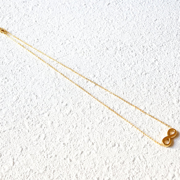 Eternity Necklace, Gold