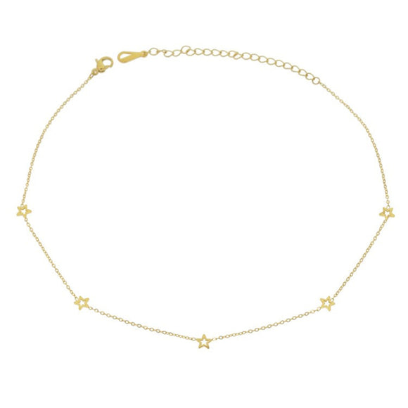 Constellation Choker, Gold