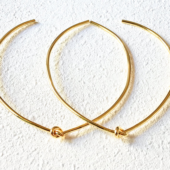 Loop Knot Choker, Gold