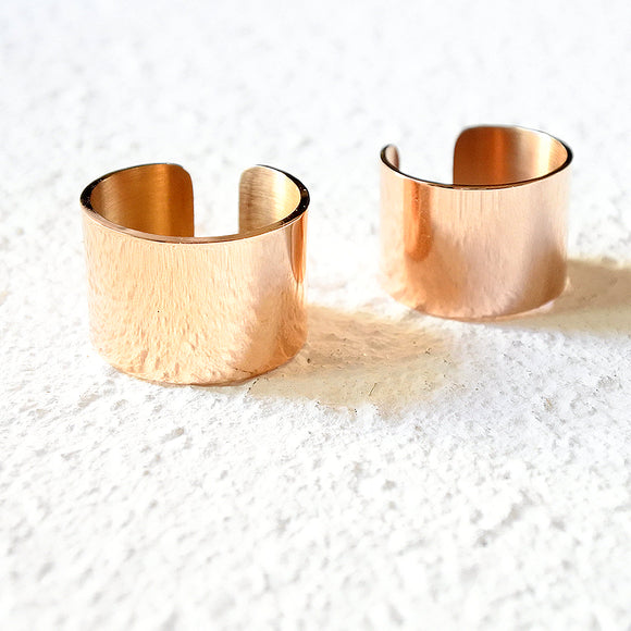 Classic Cuff Ring, Rose Gold
