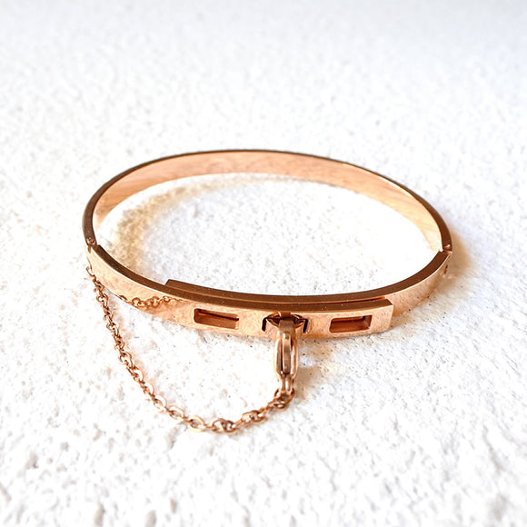 Chained Up Cuff, Rose Gold
