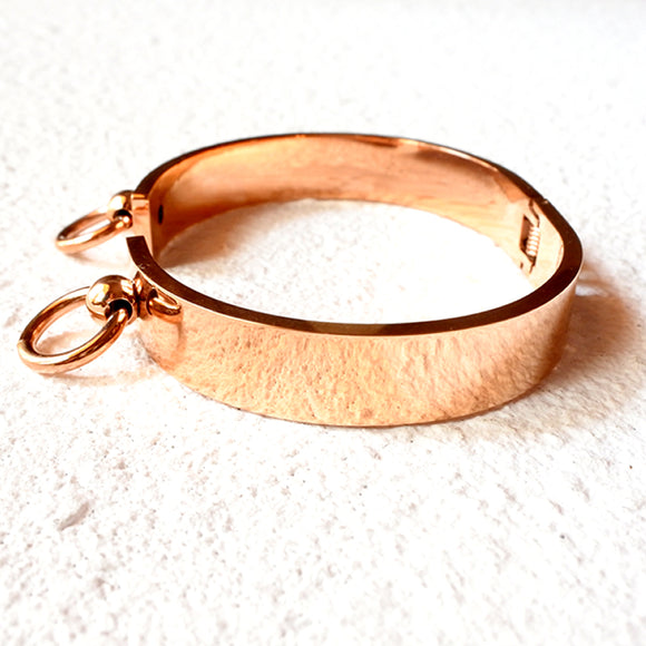Double Loop Cuff, Rose Gold