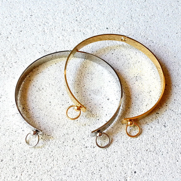 Double Loop Choker, Gold