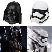 Mascara Star Wars com LED Stormtrooper e Darth Vader