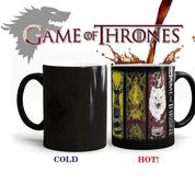 Caneca Game Of Thrones Altera cor quando aquecida