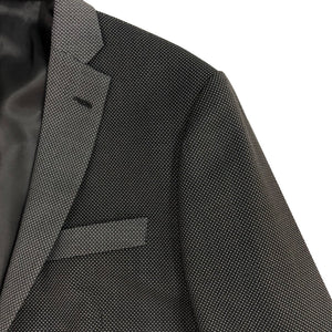 Patchwork Grey Blazer