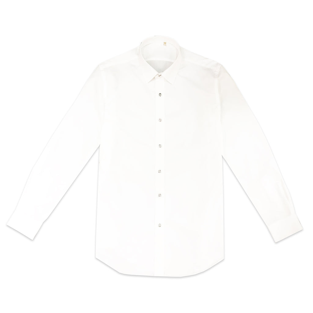 TUXEE White Cotton Shirt