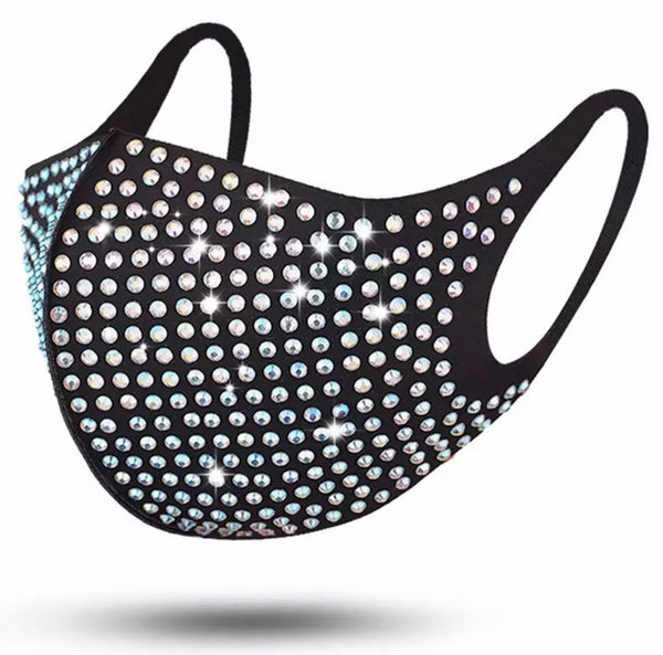 Rhinestone Party Mask