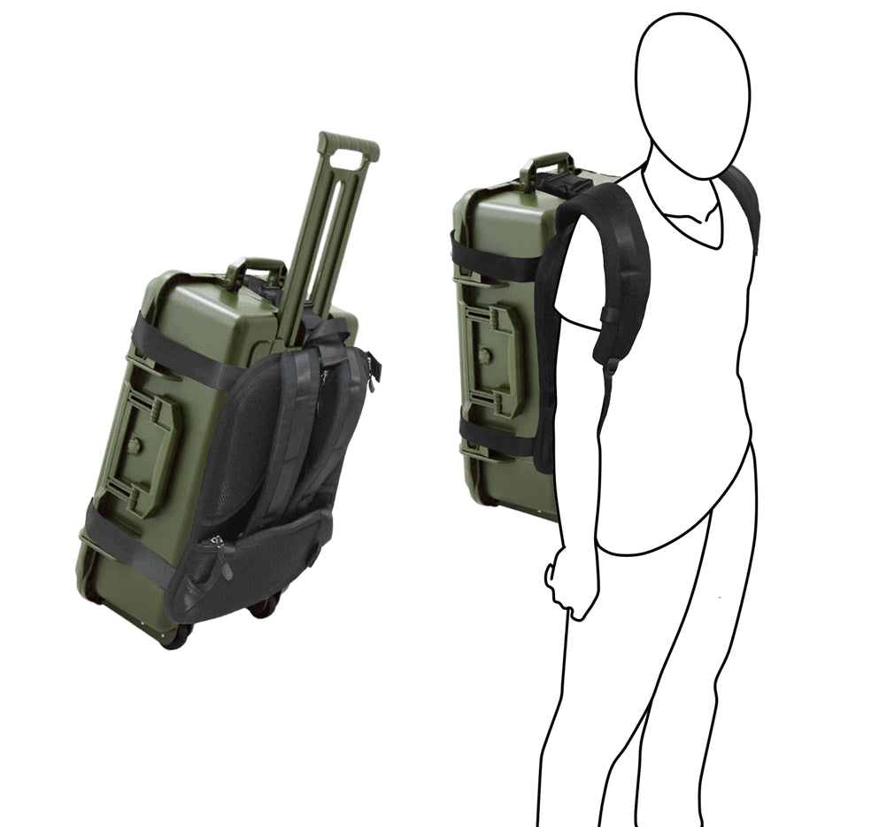 e59fb3758e ... Hardcase/Carry On Trolley Luggage Backpack Conversion System Adjustable  Strap ...
