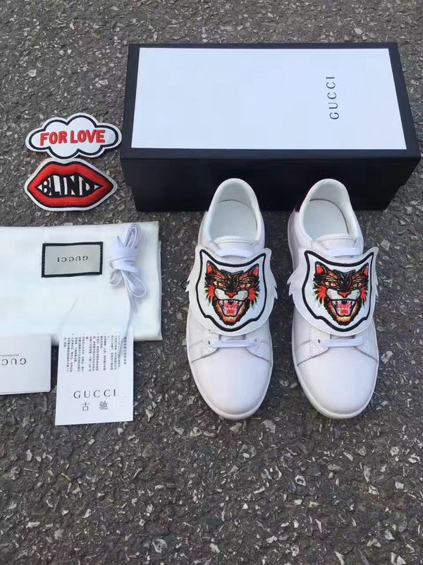 GU. Ace Sneaker with Removable Patches