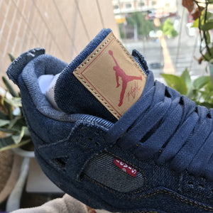 "Levi's x Air Jordan 4 Retro NRG ""Denim"" AO2571-401"