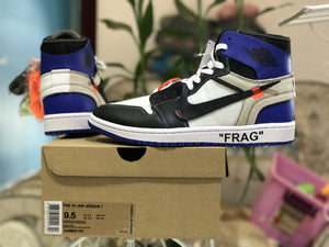Off-White x Fragment x Air Jordan 1 Retro High OG AA3834-103