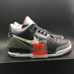 "Air Jordan 3 Retro NRG JTH ""Black"""