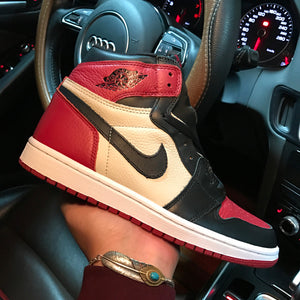 "Air Jordan 1 Retro High OG ""Bred Toe"" 2018 555088-610"