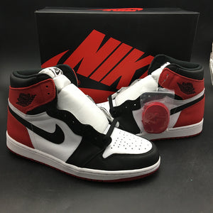 "Air Jordan 1 Retro High OG ""Black Toe"" 555088-125"