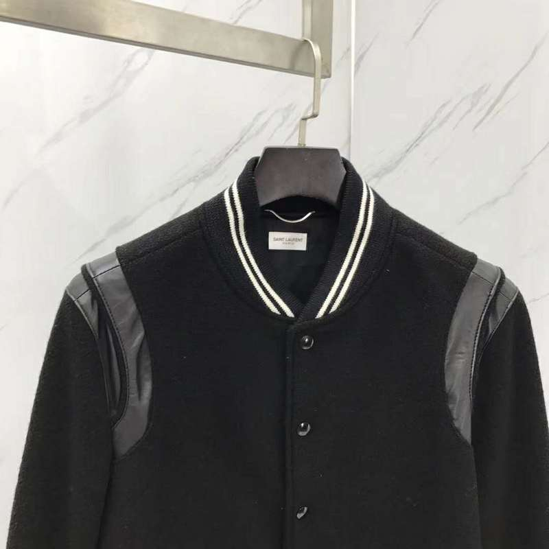 St. Laurent Teddy Jacket