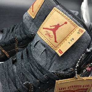 "Levi's x Air Jordan 1 Retro High OG NRG ""Black Denim"""
