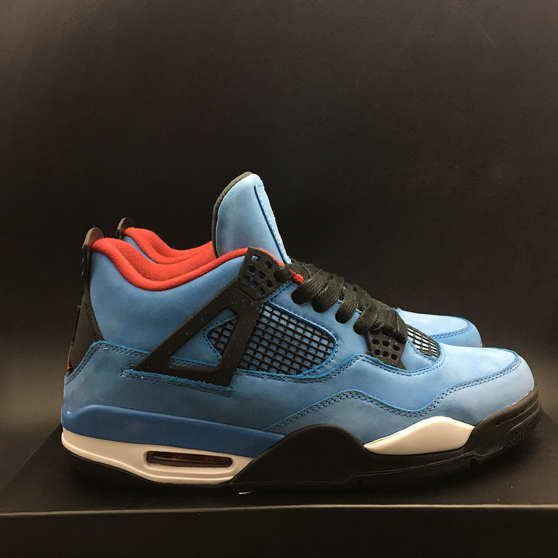 "Travis Scott x Air Jordan 4 Retro ""OILERS"" 308497-406"