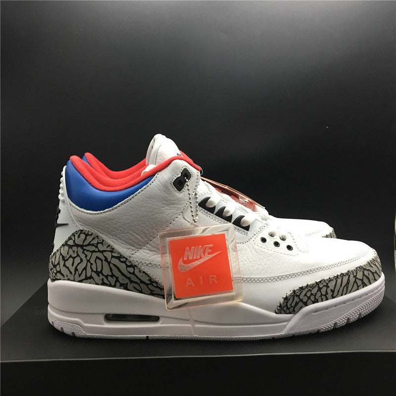 "Air Jordan 3 Retro NRG ""Seoul Korea"" AV8370-100"