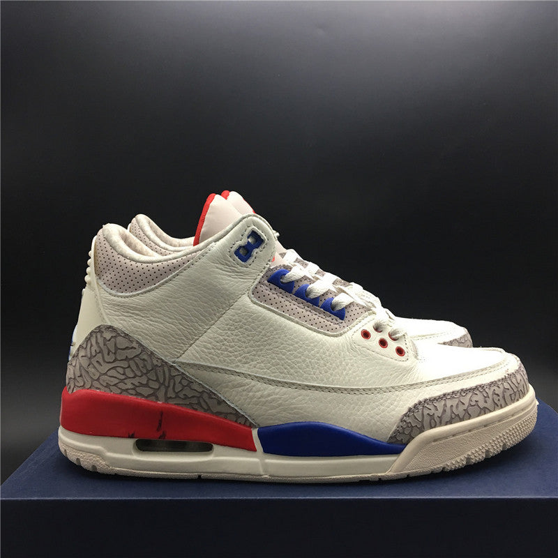 "Air Jordan 3 Retro ""Charity Game"" 136064-140"