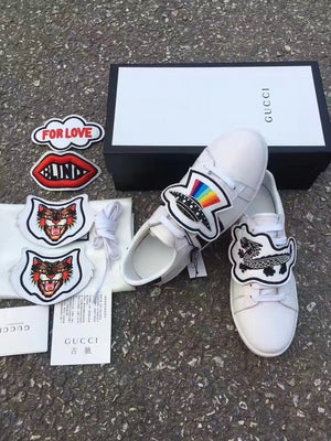 139161f5333 GU. Ace Sneaker with Removable Patches – TheSWAGPlug