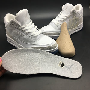 "Air Jordan 3 Retro ""Pure White"" 136064-111"